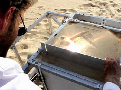 超酷的太陽能 3D 印表機,用沙子做出令人驚奇的物品!