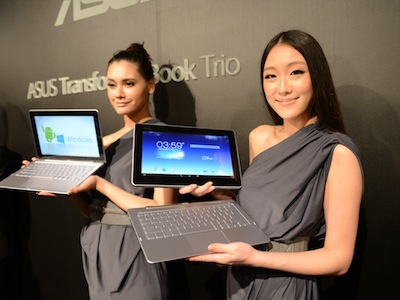 Computex 2013:Asus Transformer Book Trio 雙系統三合一變形登場