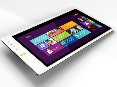 世界最薄的觸控螢幕On-Lap 1502,滑動Windows 8更有趣!