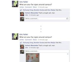 Facebook 加入「留言回應直接上傳照片」功能