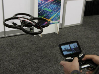 AR.Drone 四軸直昇機新玩法,用 Nvidia SHIELD 來操控