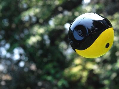 攝影也能用扔的!Squito 除了能全景拍照,也能高速、慢速錄影