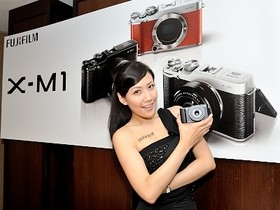 Fujifilm X-M1 在台登場,入門微單眼市場生力軍