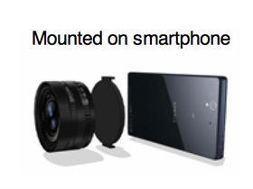 將 1 吋感光元件塞入鏡頭 ?傳 Sony 將推新型鏡頭,可接智慧型手機