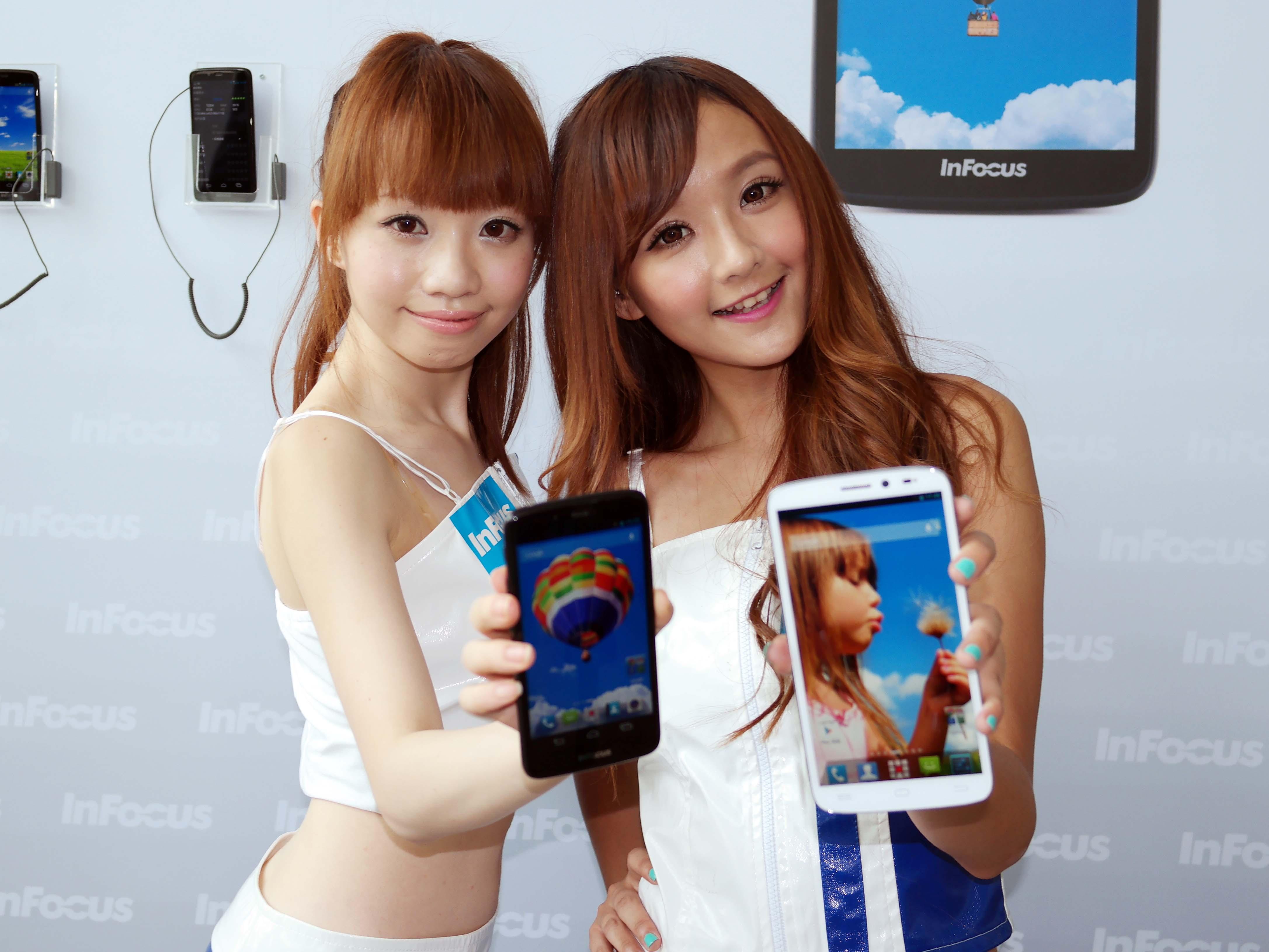 InFocus 攜手鴻海平價推智慧型手機, 5 吋 FHD 螢幕 IN810 、 6.1 吋 IN610 一手試玩