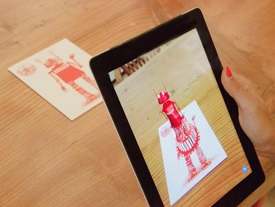 擴增實境卡片 Gizmo,實體傳達、虛擬呈現你的祝福
