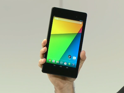 新 Nexus7 測試數字出爐,續航力弱於舊款 Nexus7