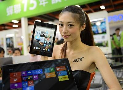 2013 應用展:Acer 主推輕薄觸控筆電、四核心平板電腦