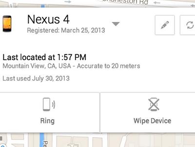Google 終於推出 Android Device Manager設備丟失尋找 app 找回你的裝置 | T客邦