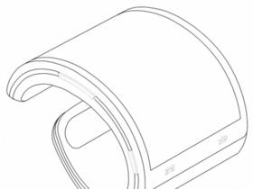 三星智慧型手錶申請專利意外流出,螢幕可彎曲