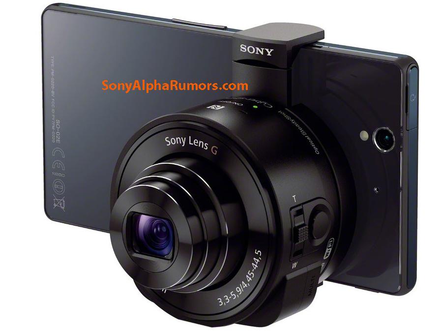 Sony 將推出只有鏡身的相機 DSC-QX10、DSC-QX100,搭配手機一同操作