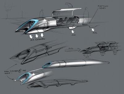 Elon Musk 的 Hyperloop 初版設計方案出爐,比高鐵快3倍,成本只有1/10