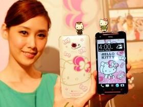 HTC 推出 Butterfly s Hello kitty 限量版手機,搭載獨家彩繪外殼與桌布、9/3 號通路開賣