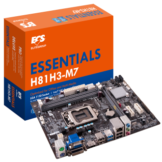 精英電腦全新打造新一代逆襲技術H81系列主機板  全新高清4K技術體驗與效能強化升級