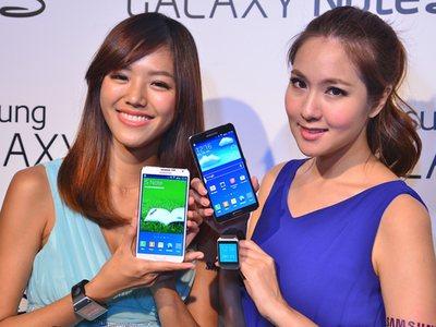 Samsung Galaxy Note 3 台灣上市倒數、預購活動即刻啓動,Galaxy Gear 智慧手錶搶先試玩