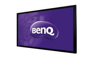 BenQ發表65吋大型商用互動觸控顯示器 採用友達面板 直覺式操控 溝通零距離 滿足公共顯示多元應用