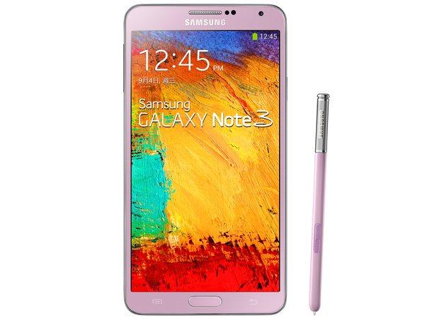 Samsung Galaxy Note 3 LTE 版本 11 月在台上市,「香頌粉」新色同步登場