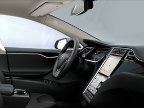 Tesla Model S 電動車上用 17 吋大螢幕跑 Chrome,未來也可能搭載 Android 系統