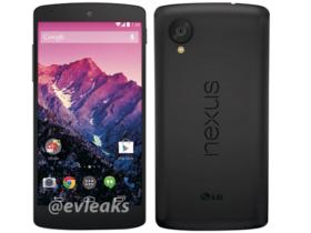 Nexus5 宣傳照流出,可能於 10/28 號發表,售價約一萬台幣