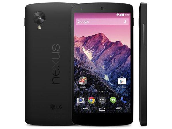 Nexus 5 與 Android 4.4 KitKat 正式發表,台灣預計 11 月開賣