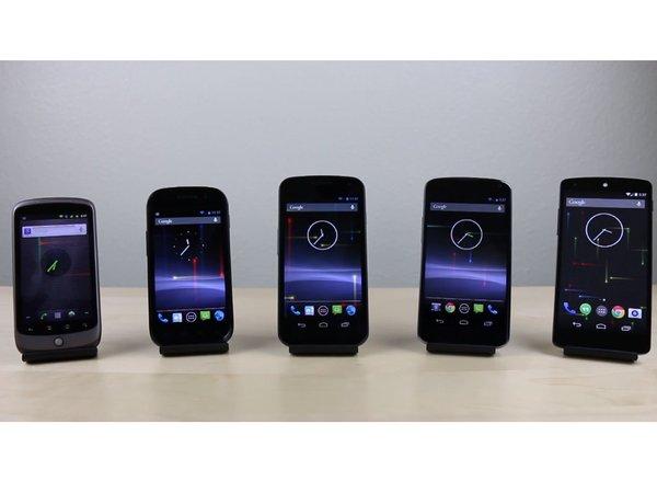 Nexus 五兄弟排排站,影片實測歷代機種效能差異 | T客邦