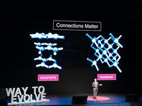 碳原子成為「鑽石」還是「石墨」取決於連接方式,人際社群網路也是