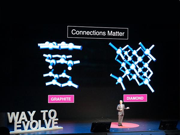 碳原子成為「鑽石」還是「石墨」取決於連接方式,人際社群網路也是 | T客邦