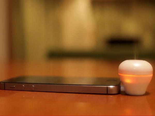 聞到燒焦味?是Scentee 把手機的通知訊息變成味道