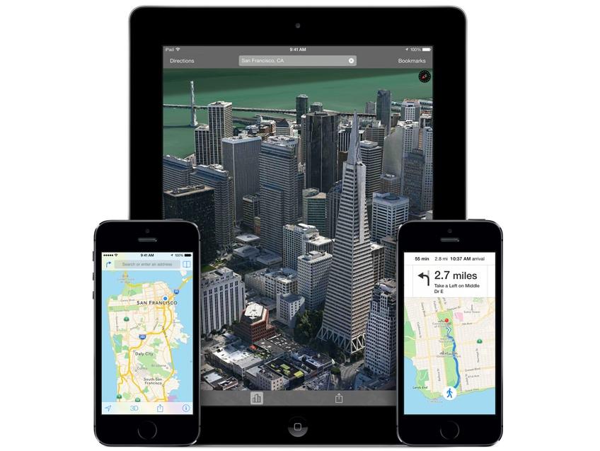 在 Apple 的地盤上,iOS 版 Google 地圖終究贏了口碑輸了市場