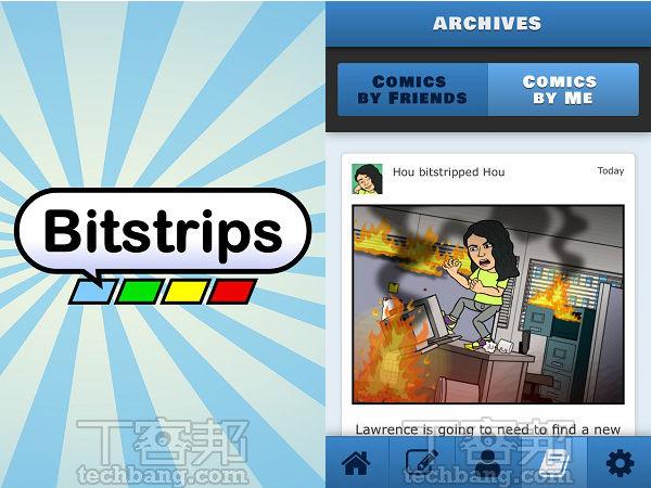 Bitstrips App:臉書超紅自製趣味漫畫