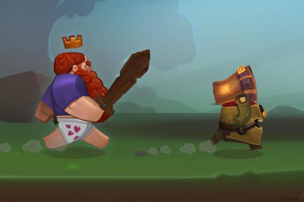 3D 橫向冒險小品《TROUSERHEART》,快幫國王找回他的褲子!