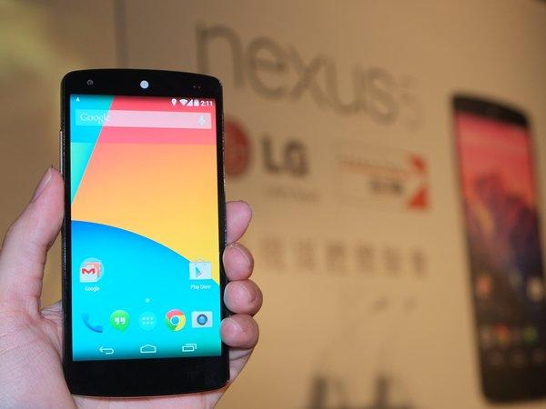 Nexus 5 正式登台遠傳獨賣,16GB 售價 14,900 元