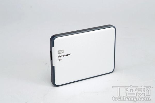 WD My Passport Slim 評測:全金屬外殼設計,更加輕、薄、小