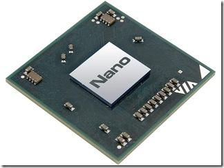 威盛正式發表Nano系列處理器