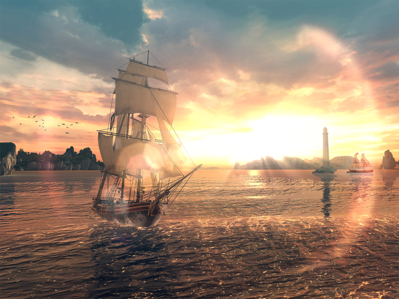 Ubisoft 宣布《刺客教條:海盜奇航》航向行動裝置 12 月 6 日同步推出中文版