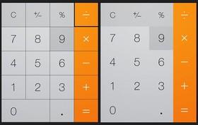 iOS 無邊框按鈕設計的優缺點