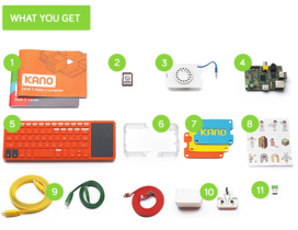 你的孩子還在搭積木?119 美元兒童組裝電腦套件 Kano 募資網站發燒中