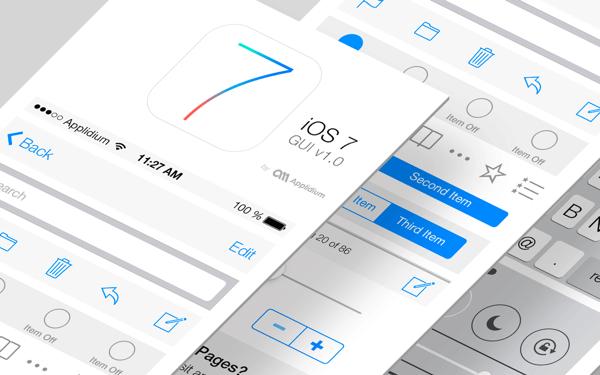 一些 iOS 7 設計上的問題 | T客邦