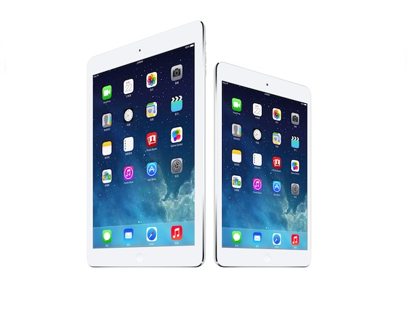 iPad Air 與 iPad mini Retina 12 月 16 日台灣上市