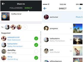 Instagram 5.0 大改版,新增「Direct」私傳照片給朋友