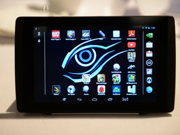 GIGABYTE Tegra Note 7 遊戲平板發表挑戰地表最快