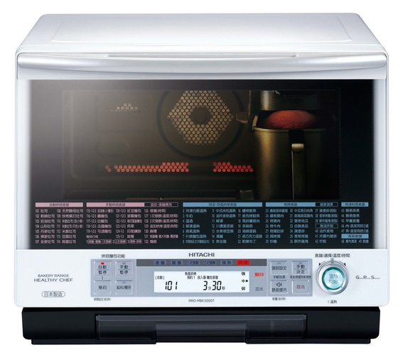 料理爐跨界新思維 Hitachi過熱水蒸氣烘烤微波爐 業界首創 料理.烘焙  一機搞定無限美味