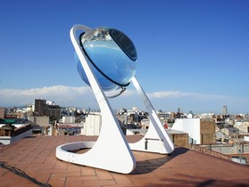 「球形玻璃」:太陽能發電新選擇