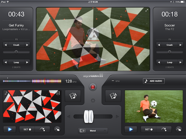 VJ 影像混音軟體 vjay for iPad / iPhone 限時免費,自己來開趴吧!