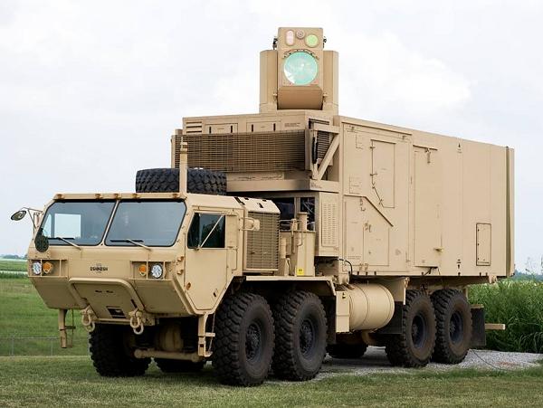 美國陸軍試射車載雷射砲,成功擊落100%迫擊砲彈