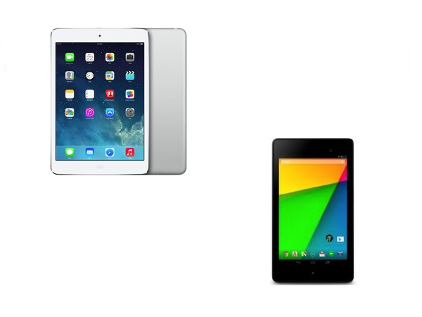 第二代小平板的對決,Nexus 7 和 iPad mini 你選誰?