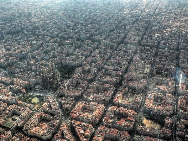 超驚奇!27 個鳥瞰城市景象