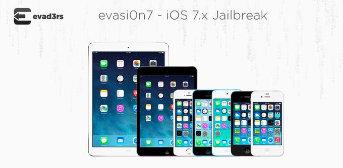 iOS 7 越獄工具 Evasi0n 1.0.1 更新,終止中國「太極」合作並移除太極助手