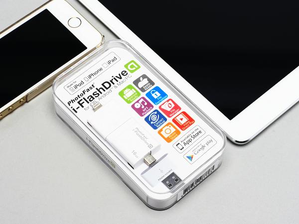 i-FlashDrive 雙頭龍 跨 iOS & Android 通用隨身碟:對應兩大行動系統隨插即用 | T客邦