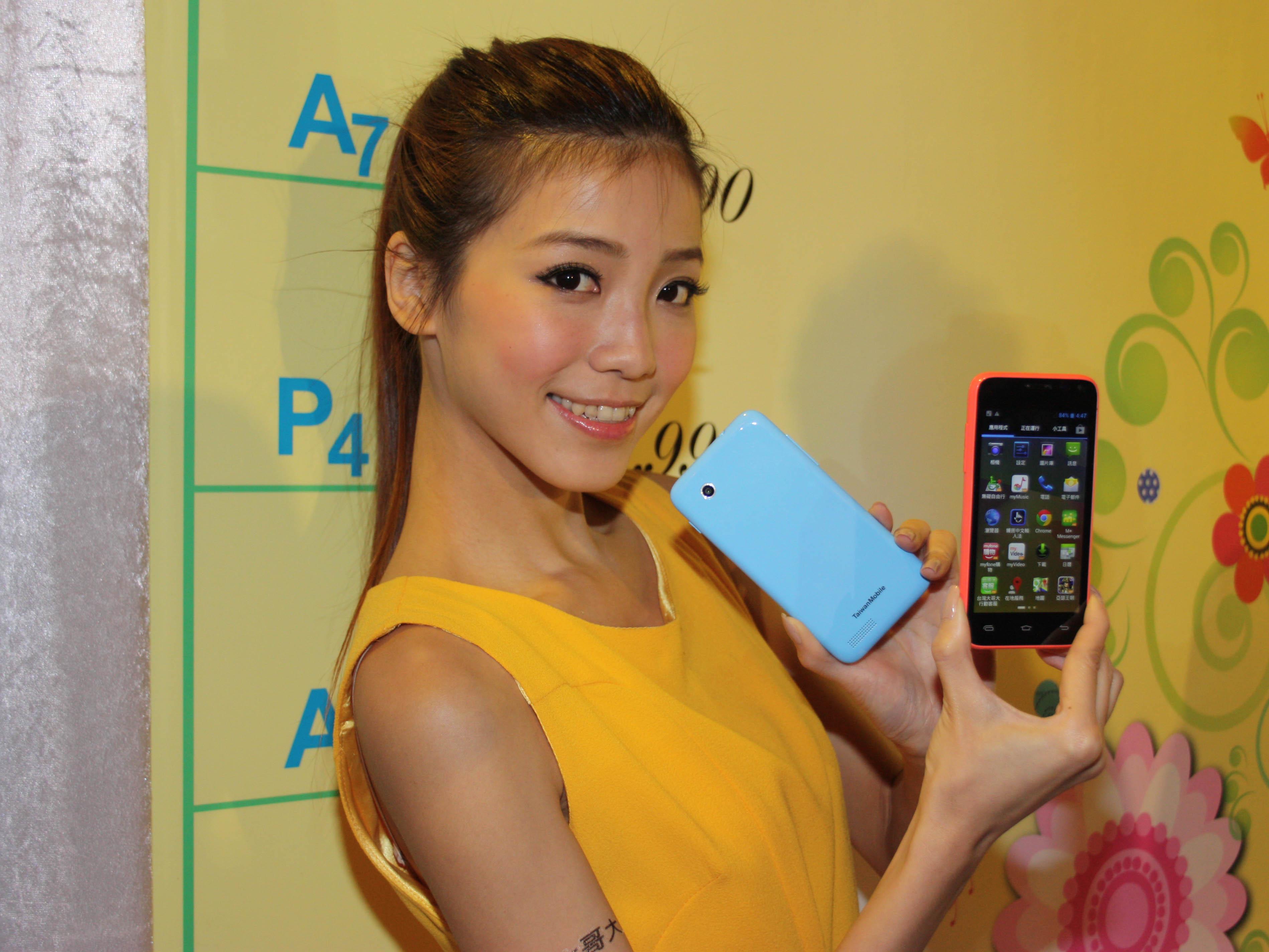 台哥大發表自有品牌 5.5 吋 A7、皮革背蓋 A6S、多彩外殼 A5C 智慧手機,外加入門平板 P5
